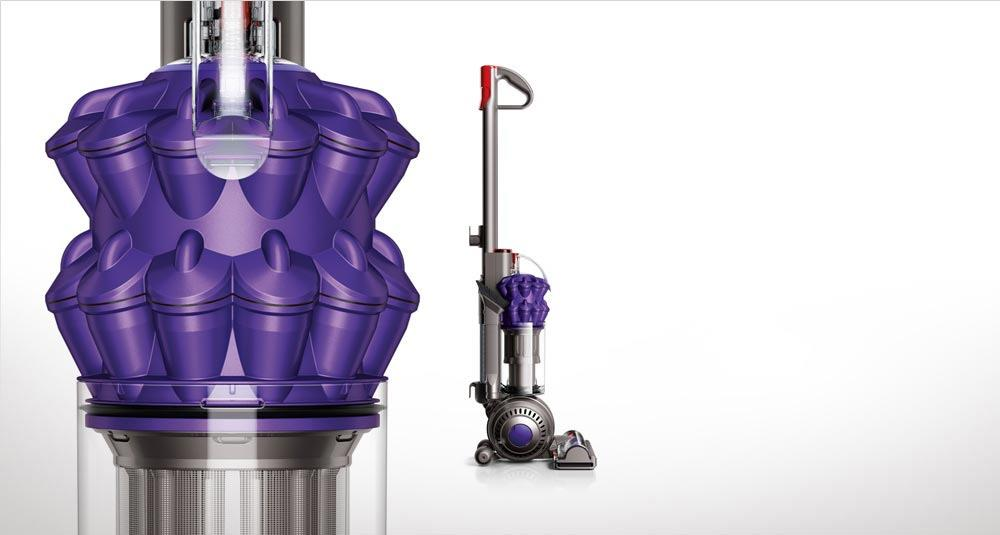 Upright vacuums background image