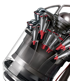 Dyson Cinetic™ cyclone technology